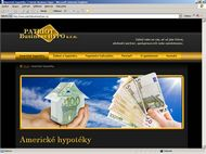 Screenshot webu Patriot Business Hypo - Úvod